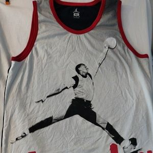 Jordan Nike jumpman XL cotton tank top. Vintage.